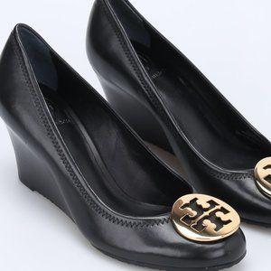 Tory Burch Sally Wedge Black Size 9.5